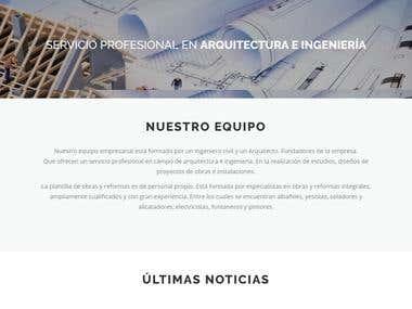 Desarrollo Web empresa - servireformas.com