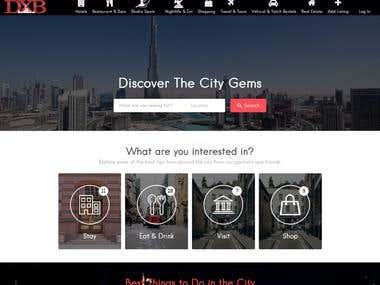 DXB Website.