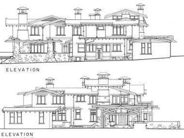 Exterior Architectural Drawings