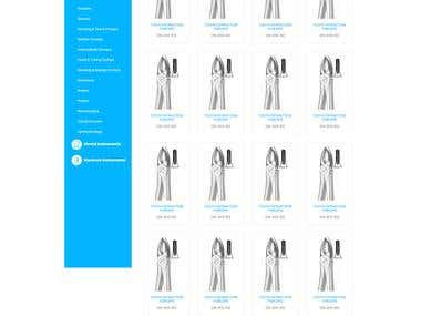 Surgical Equipment Website