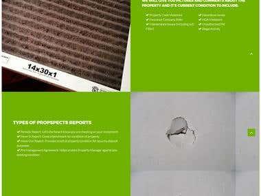 Rental website developed in wordpress