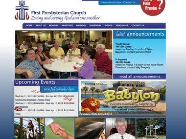 First Presbyterian's website
