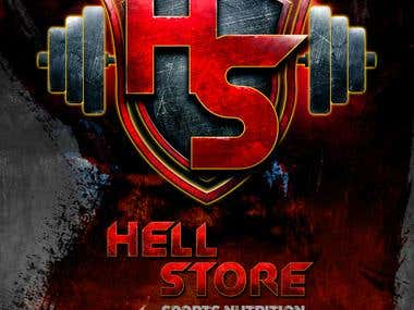 "Logo creation ""Hell store"""