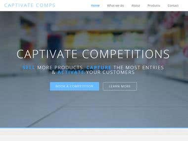 Fully Responsive - Captivate website