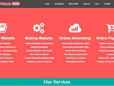PHP Website - drawwebsite