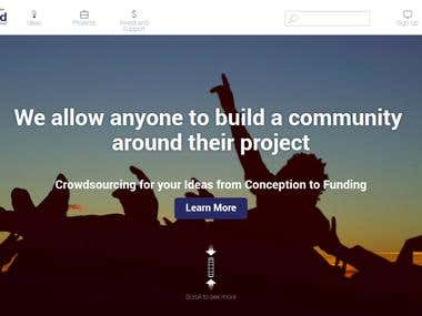 Crowd Funding Website (Laravel 5.4+ Angular 2)