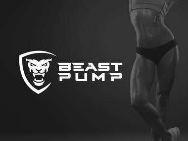 Logo Design for beast pump