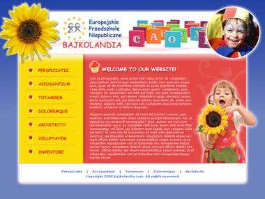 Website - Kindergarten