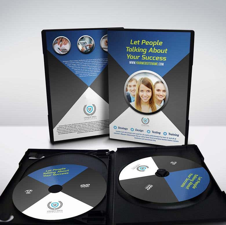 Corporate Dvd Cover And Dvd Label Templates Freelancer