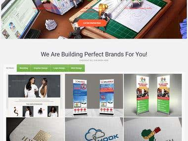 Business Corporate Website for a SEO Agency Scribbledinnovat