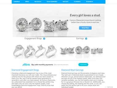 Diamond Engagement Rings, Wedding Bands, Earrings, Bracelets