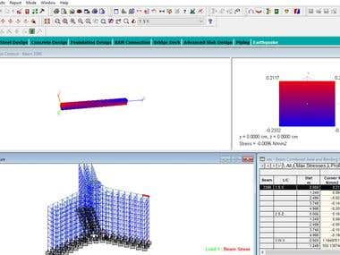 Design,detailing,layout, Computer Aided Analysis of Building