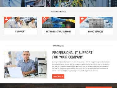 Website - IT Support