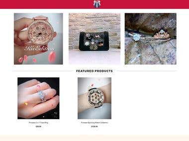 ACCESSORIES SELLING WEBSITE