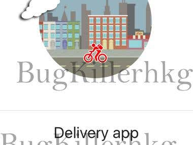 Delivery iPhone&iPad App