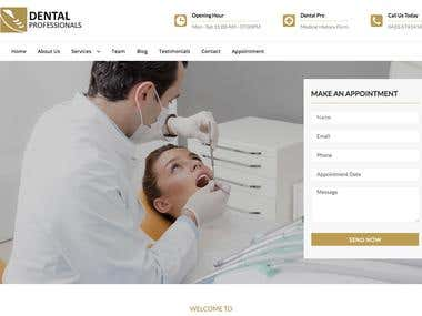 Dental Appointment Website