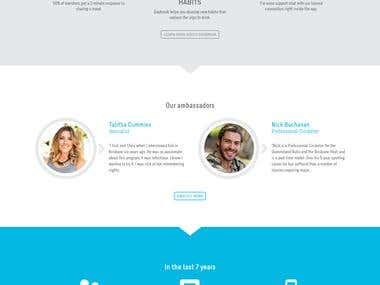 Custom Wordpress CMS Responsive Website
