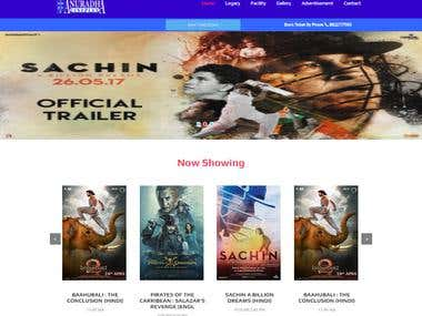 Website for Cineplex