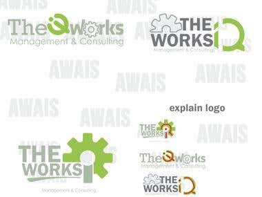The IQ works logo
