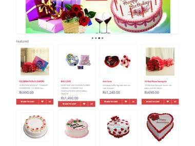 E commerce Portal Design