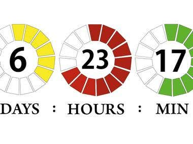 A Countdown Design