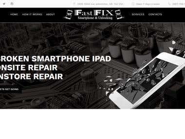 Electronic Items Repair Website