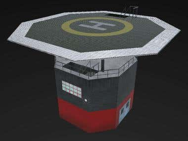3D Heliport