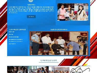 NGO Responsive website design