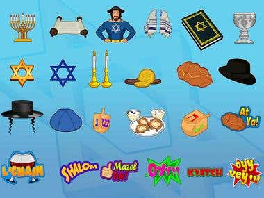 Jewish - StickerPack