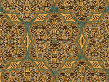 Design graphic for fabric -- 2