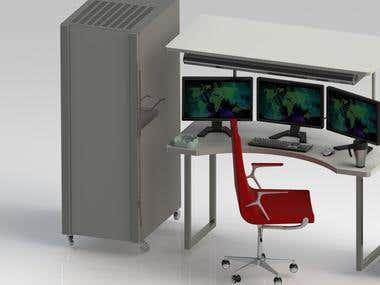 fantasy PC server room design