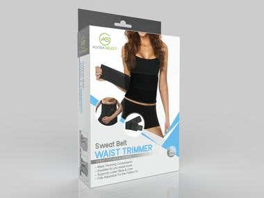 Sweat Waist Trimmer Packaging