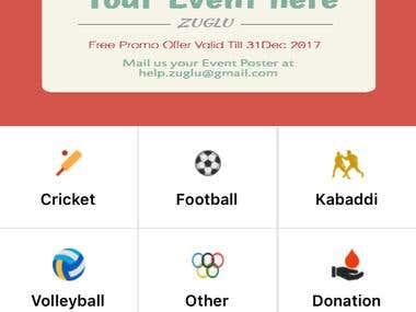 Zuglu Event Finder