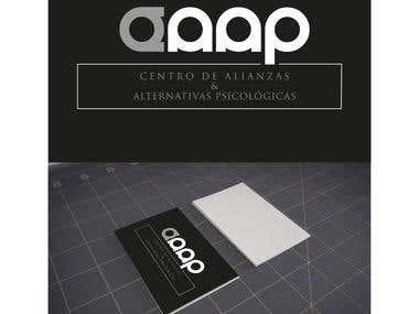 Caap logo and branding