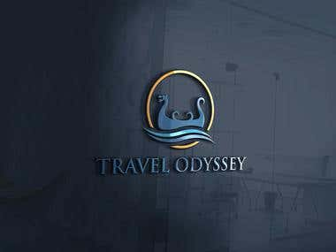 Clean, Creative LOGO for Travel Odyssey, a new Travel Agency