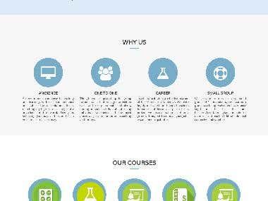 Online Tutor website design