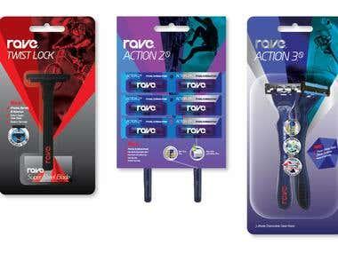 R A V E  Brand & Packaging Design