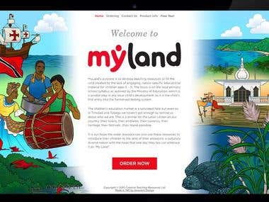 MyLand Website