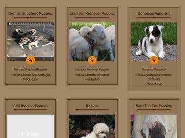 This is puppies sale & purchase website.
