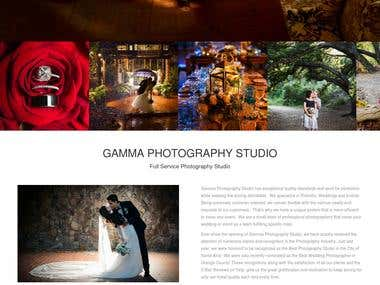 "Wordpress Site (""http://gammaphotographystudio.com"")"