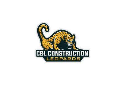 Leopard Construction Logo