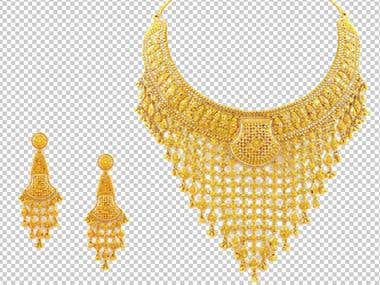 Jewelry Product Background Remove