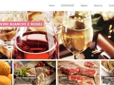 Zalilli Food Service/Magento eCommerce