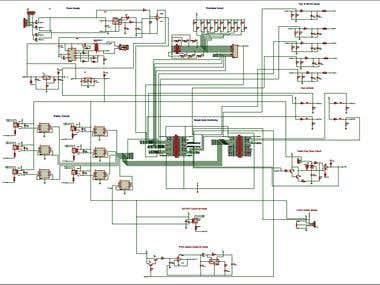 Schematic for an Industrial Project (FREEZER) (Beaglebone)