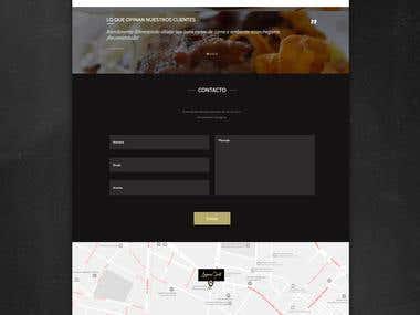 America Grill website