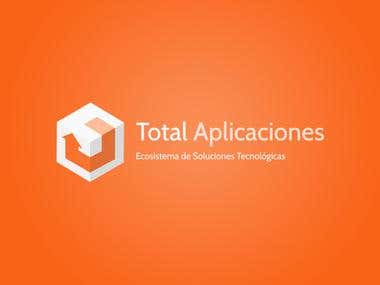 Total Aplicaciones - Logo Design