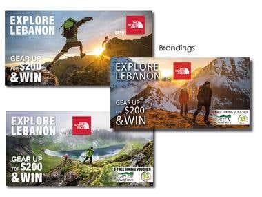 Explore Lebanon NorthFace Campaign