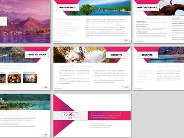 Corporate presentation - B2B online travel agent