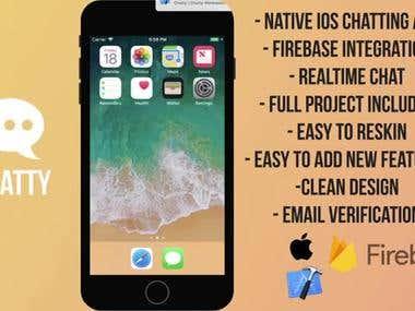 Chatty | iOS App