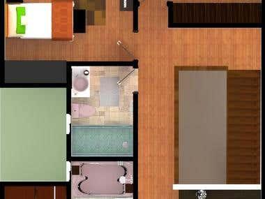 Maqueta Digital Casa Modelo